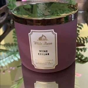 NEW BBW 3 Wick Candle Wine Cellar